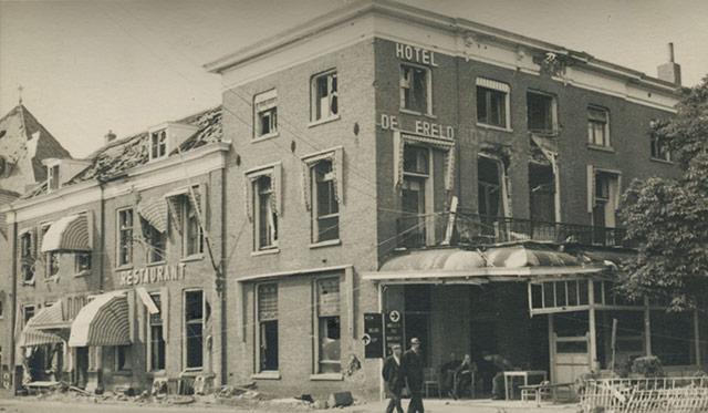 The German capitulation in Wageningen