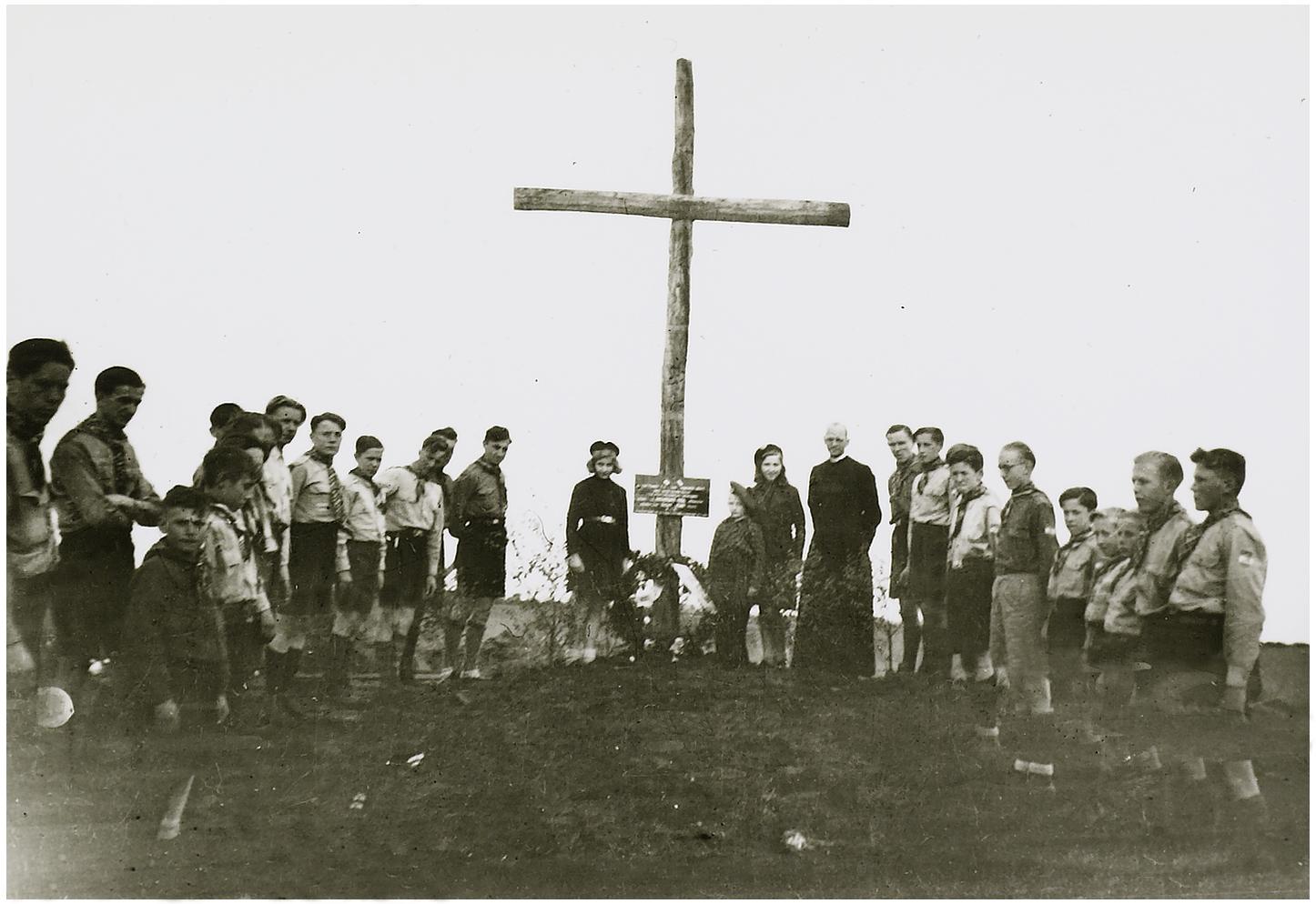 A cross in the Peel